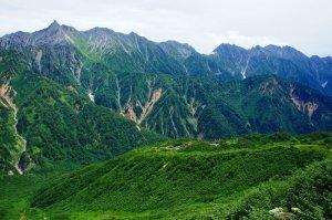 2015年8月、北アルプスの双六岳~槍ヶ岳を縦走しました。